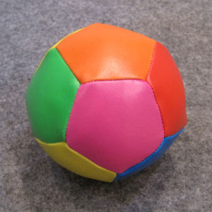 12panel Colorful Printing Soft Soccer Ball (B10116) pictures & photos