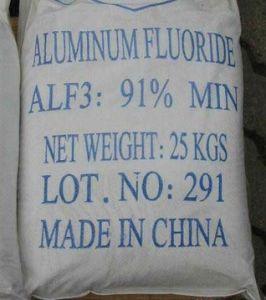 Anhydrous Aluminium Fluoride (F: 60% min, Al: 30% min)