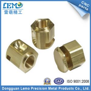 Dongguan Lemo CNC Precision Metal Parts Made of Brass Holder pictures & photos
