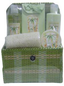 Bamboo Cosmetic Bath Set (SFBS8004)