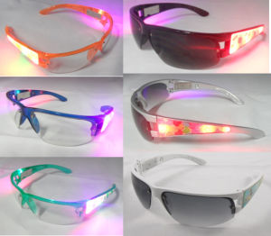ED Party Flashing Glasses (QY-LS001) pictures & photos