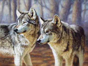 Animal Oil Painting (DAFEN-F16)