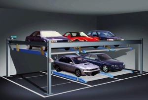 Double Layers Garage Storage Car Parking System