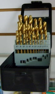 25PCS HSS Twist Drills Set