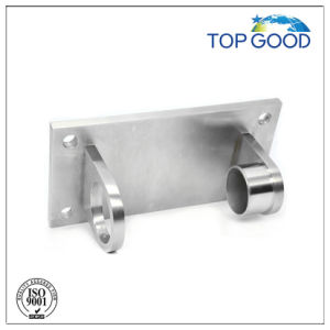 4-Hole Rectangular Mounting Bracket for Round Stainless Steel Intermediate Posts pictures & photos