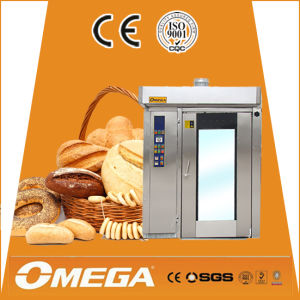 Stainless Steel Electric Steam Rotary Oven/Bread Equipment /Bakery Trolley Rack Oven pictures & photos