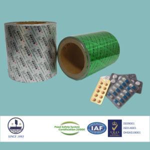 0.024mm in Thickness Aluminum Bottom Foil for Pharmaceutical Packaging Alloy 8011 H18