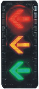 LED Traffic Signal Light (FX300-3-ZGSM-3) pictures & photos