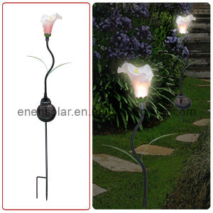 Solar Resin Flower Light (HL016-9)