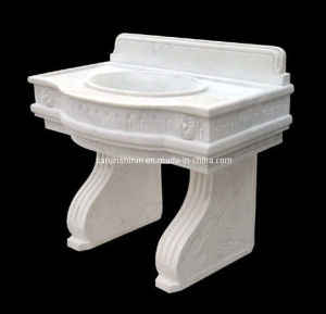 Stone Carving Marble Stone Sink Wash Basin (3017) pictures & photos