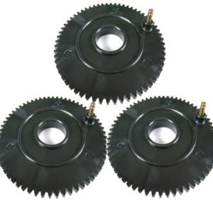 Plastic Molds - Plastic Gears With Metal Inserts Molded-in