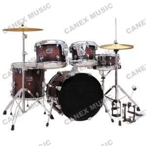 Drum Set 5 PCS/ Drum Kit Wood (DC1851) pictures & photos