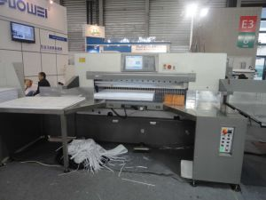 Paper Cutting Machine (QZYW155C) pictures & photos