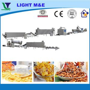 Roasted Extruded Breakfast Cereal Corn Flakes Making Machine pictures & photos