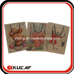 Custom Print Kraft Brown Paper Bags pictures & photos
