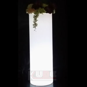 LED Furniture Illuminated Plant Pots Cylinder Illuminated Planter pictures & photos