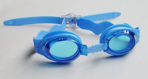 100% UV-Protective Swimming Goggles for Kids with Comfortable Silicone Straps