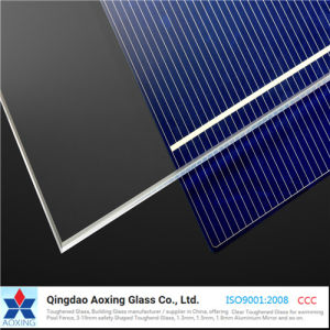 Ar Photovoltaic Glass for Solar Cell Module pictures & photos