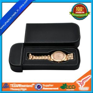 Guangzhou Direct Factory Make PU Leahter Watch Box Watch Case