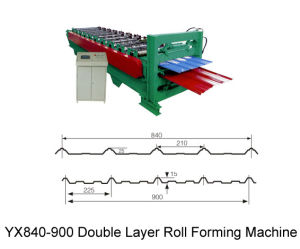 Double Layer Roll Forming Machine (ZY840/900)
