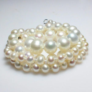 6-7-8-9mm Round Freshwater Pearl Necklace AAA pictures & photos