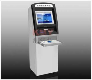 Touch Screen Self Borrowing and Returning Books Kiosk pictures & photos
