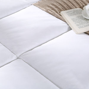 Luxury Soft Microfiber Mattress Pad Mattress Topper (DPF41436) pictures & photos