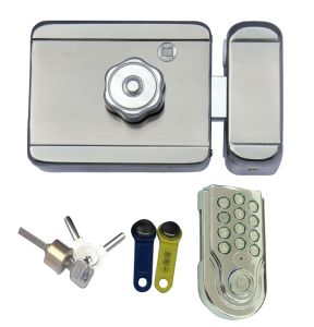Digital Rim Lock, Electronic Password Door Lock (LY1202-KP11)