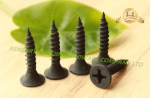 Screw/Drywall Screw/ Fine Thread Phillips Drive Bugle Head Black Phosphate Drywall Steel Screw pictures & photos