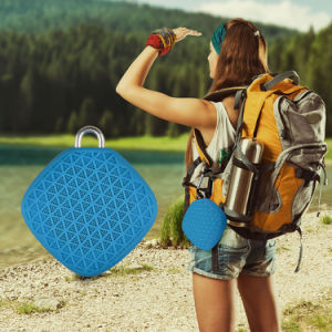 Wireless Water Resistant Shower Speaker Waterproof Bluetooth Speaker with Microphone pictures & photos