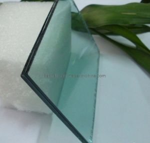 6.38mm Green Laminated Glass