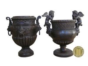 Bronze Sculpture, Bronze Flowerpot (BRONZE-011) pictures & photos