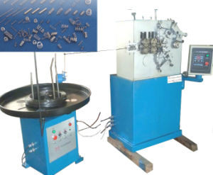 Automatic Mechanical Linear Compression Spring Coiling Machine pictures & photos