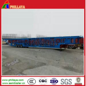 Car Carrier with 2 Skeletal Floors pictures & photos