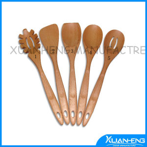 Flat Wooden Spoon for Cooking pictures & photos