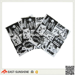 Cheaper Printed Microfiber Sunglass Cloth pictures & photos