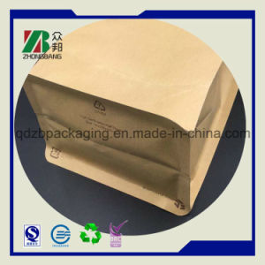 Stand up Ziplock Kraft Paper Bag for Coffee Tea Packing pictures & photos