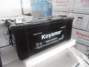 12V 200ah Dry Charge Automotive Battery for Heavy Duty Generator pictures & photos