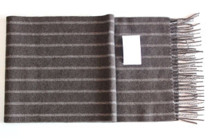 100% Yak Wool/Lattice Yak Cashmere /Men′s Wool Scarves/Fabric/Textile pictures & photos