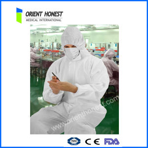 Industrial Medical Disposable Water Repellent Coverall