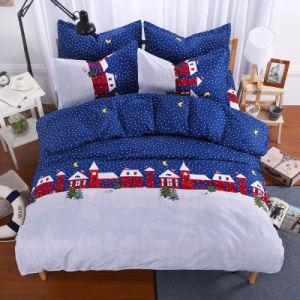 Cotton Bedding Set / Flat Sheet / Duvet Cover / Pillowcase pictures & photos