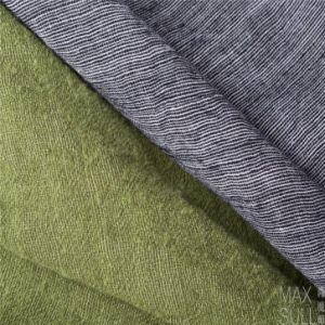 100% Wool Fabric for Autumn with Special Handfeel in Gray pictures & photos