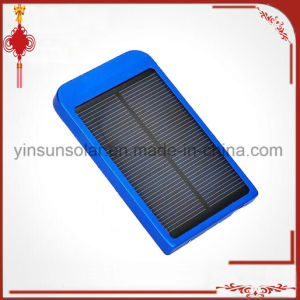 Portable Battery Mobile Phone Charger Lithium Polymer 2600 mAh Solar Power Bank for Phone pictures & photos