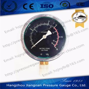 100mm 4′′ Stainless Steel Oil Filled High Pressure Gauge with Bottom Connection pictures & photos