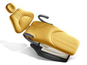 Leather LED Dental Chair Unit Floor Type (KJ-916) pictures & photos