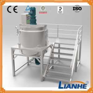 Liquid Soap Making Machine with Homogenizer Mixer pictures & photos