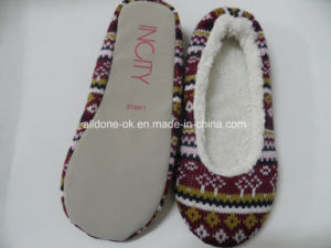 Knit Indoor Footwear Shoes Ballet Shoes Slippers pictures & photos