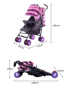 Portable Baby Pram Folding Baby Carriage Baby Stroller pictures & photos