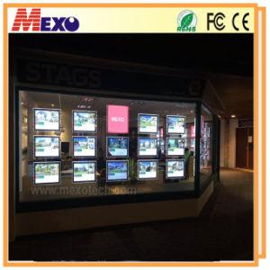 Real Estate Window Displays LED Light Pocket pictures & photos