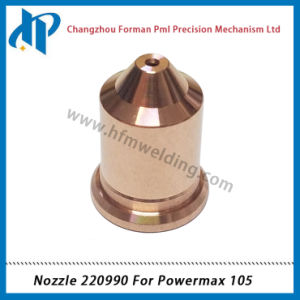 Nozzle 220990 for Power Max 105 Plasma Cutting Torch Consumables 105A pictures & photos